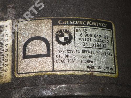 AC compressor BMW X3 (E83) 2.0 d BMW: 64526905643 35249865