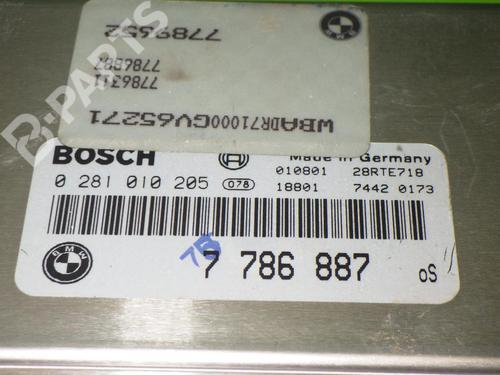 Control unit BMW 5 Touring (E39) 520 d BMW: 7786887 35093062