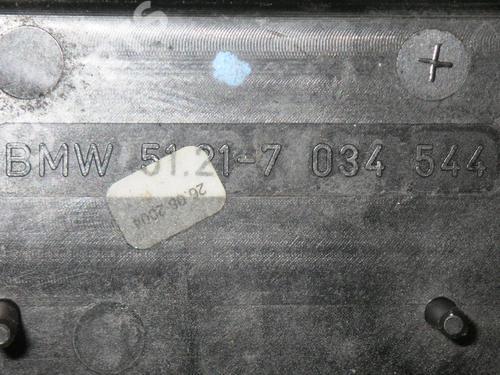 Exterior door handle BMW X3 (E83) 2.0 d BMW: 51213411278 35218664