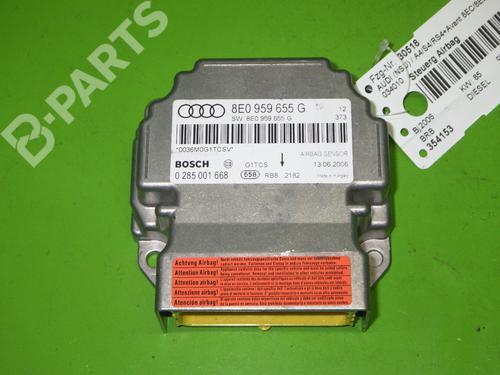 AUDI: 8E0959655G Kollisjonspute styreenhet A4 Avant (8ED, B7) 1.9 TDI (116 hp) [2004-2008]  6398238