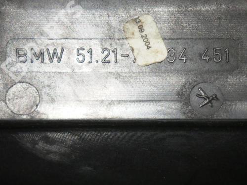 Front left exterior door handle BMW X3 (E83) 2.0 d BMW: 51217034451 35218667