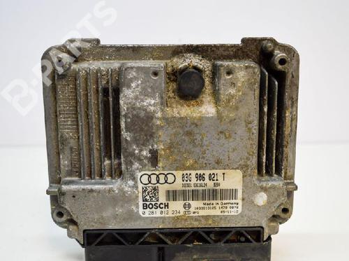 AUDI: 03G906021T Motorstyringsenhet A3 (8P1) 2.0 TDI (140 hp) [2005-2008]  6496725