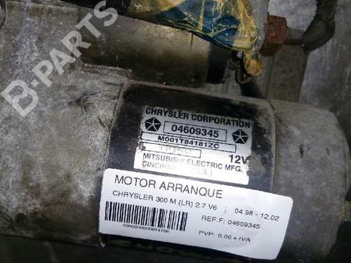 Motor de arranque CHRYSLER 300 M (LR) 2.7 V6 24V 04609345 | 271410