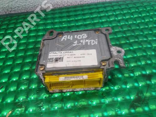 Kollisjonspute styreenhet AUDI A4 (8E2, B6) 1.9 TDI 8E0959655B | 1733895