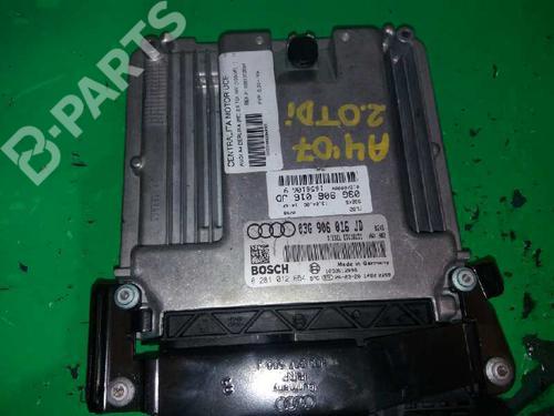 Motorstyringsenhet AUDI A4 (8EC, B7) 2.0 TDI 16V 0281012654 4505528
