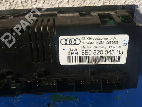 AC Styreenhet / Manøvreringsenhet AUDI A4 (8EC, B7) 2.0 TDI 16V 8E0820043BJ | 4300599