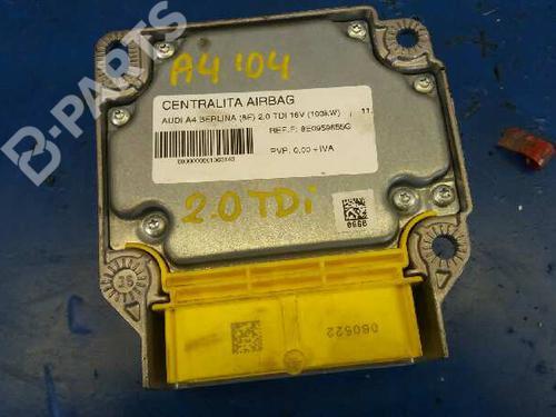 Kollisjonspute styreenhet AUDI A4 (8EC, B7) 2.0 TDI 16V 8E0959655G 4300594