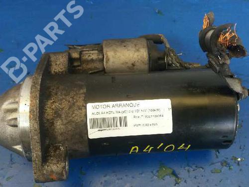 Startmotor AUDI A4 (8EC, B7) 2.0 TDI 16V 0001109064 | 4300600