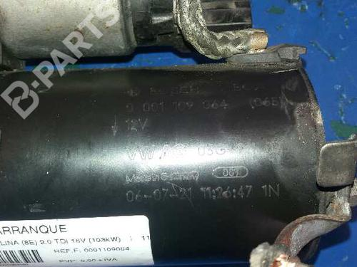 Startmotor AUDI A4 (8EC, B7) 2.0 TDI 16V 0001109064 | 4300601