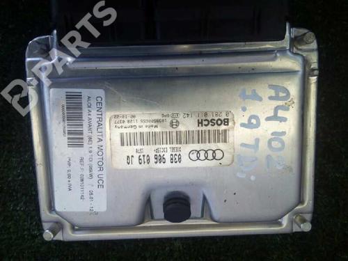 Motorstyringsenhet AUDI A4 (8E2, B6) 1.9 TDI 0281011142 | 12958272