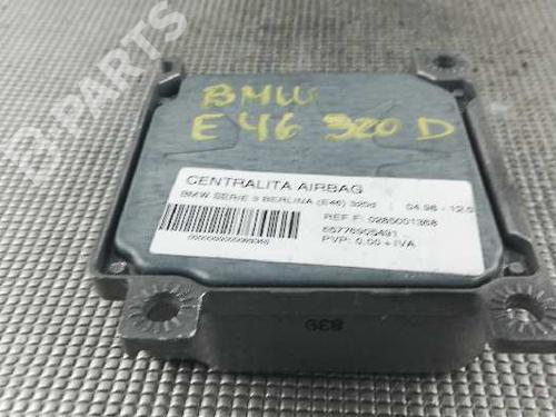 Centralina airbags BMW 3 (E46) 320 d 0285001368   65776905491   31690549100U   13780790