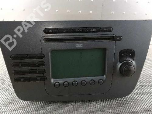 5P1035186B | 7646636366 | 49075P5050171 | Autoradio ALTEA XL (5P5, 5P8) 1.9 TDI (105 hp) [2006-2021] BXE 3014005