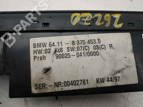 Klimabedienteil BMW 5 (E39) 525 tds 641183754530 | 900250410000 | 34021664