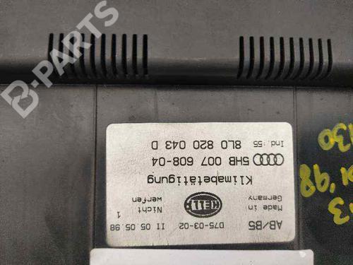 AC-Styringsenhed/Manøvreenhed AUDI A3 (8L1) 1.9 TDI 8L0820043D | 5HB00760804 | 34546652