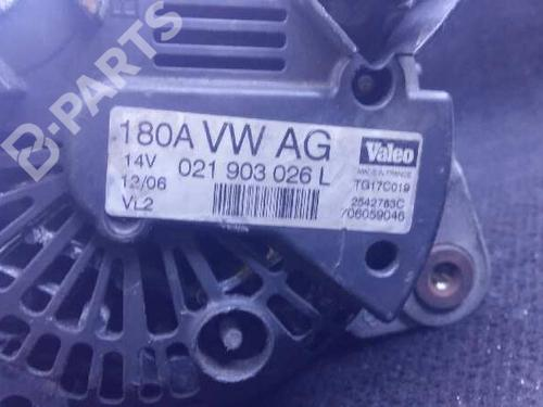 VOLKSWAGEN VW PASSAT CC 357 3.6 FSI 4motion LICHTMASCHINE 180A ORIGINAL VALEO