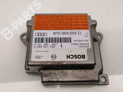 Kollisjonspute styreenhet AUDI A3 (8P1) 1.9 TDI 8P0959655D | 0285001700 | 29746336