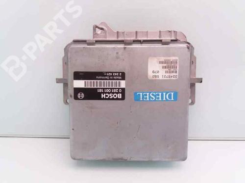 2243421 , 0281001181 , 22457215B2 | Centralita motor 5 (E39) 525 tds (143 hp) [1996-2003]  367936