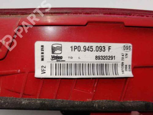 Feu arrière gauche SEAT LEON (1P1) 1.9 TDI 1P0945093F | 89320291 | 30182334
