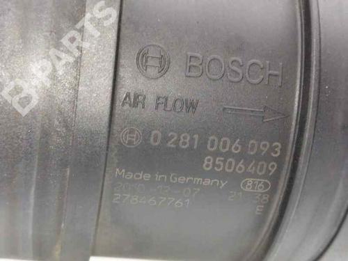 Luftmassenmesser BMW 3 (E90) 318 d 8506409 , 0281006093   33989310