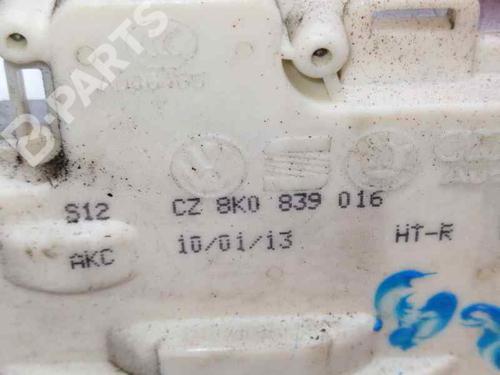 Høyre bak lås AUDI Q3 (8UB, 8UG) 2.0 TDI 8K0839016 | 31328429