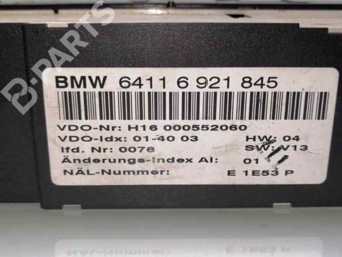 AC Styreenhet / Manøvreringsenhet BMW 3 (E46) 320 d 64116921845 | 6921845 | H16000552060 | 28212683