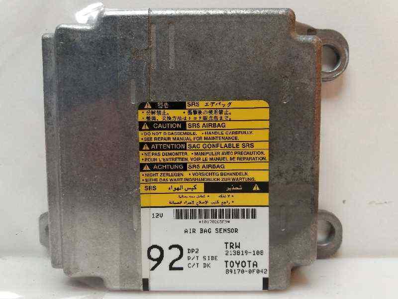 Toyota Corolla Airbag Sensor Part Number 89170-0F042 Genuine Toyota Part