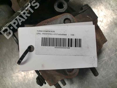 35242061F | 106060 | Turbo FRONTERA A (U92) 2.5 TDS (115 hp) [1996-1998]  180327