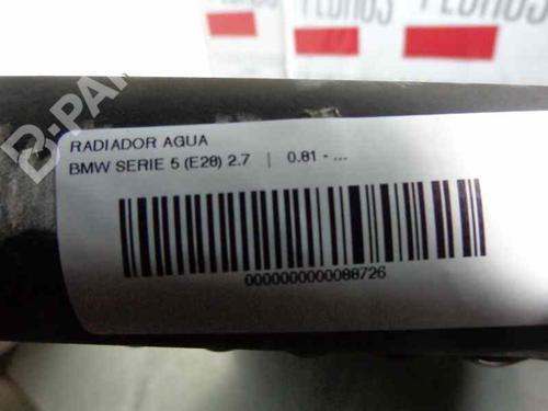 Radiador de água BMW 5 (E28) 528 i 47321 | 17875289