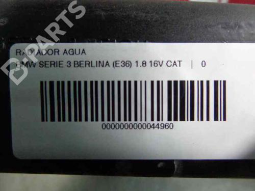 Radiador de água BMW 3 (E36) 318 is 1992 | 17874987