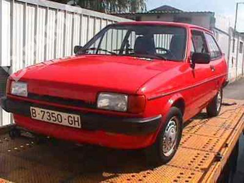 FORD FIESTA III (GFJ) 1.1 (50 hp) [1989-1995] 23586394