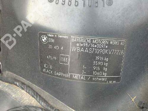 Airbag puerta derecho BMW 3 (E46) 320 d  29078544