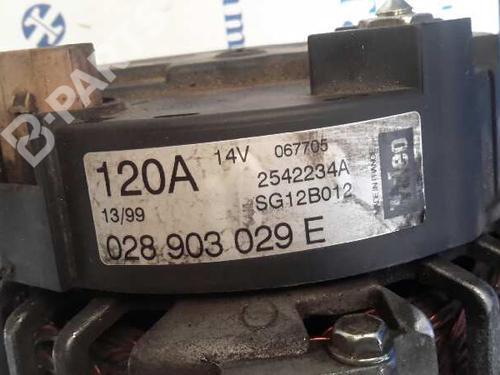 Generator AUDI A4 (8D2, B5) 1.9 TDI 059903015G 9824788
