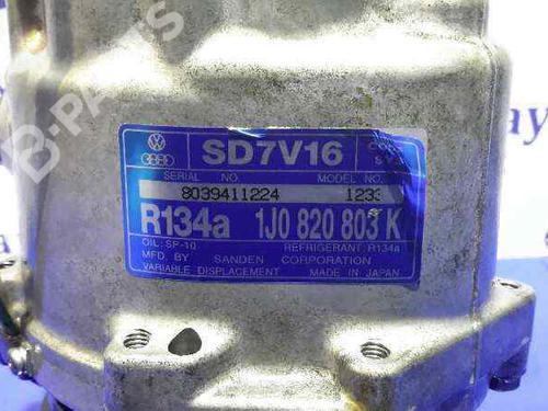 Compresseur AC SEAT LEON (1M1) 1.9 TDI 1J0820803K | R134A | SD7V161233 | 30245413