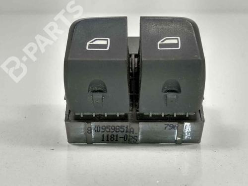 Pulsantiera anteriore sinistra AUDI A1 (8X1, 8XK) 1.4 TFSI 8X0959851A   40048158