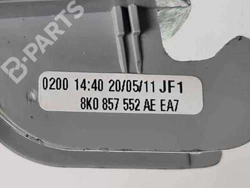 Aletta parasole destra AUDI A1 (8X1, 8XK) 1.4 TFSI 8K0857552   40025702