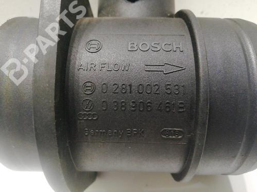Sensori di flusso dell'aria AUDI A3 Sportback (8PA) 1.9 TDI 0281002531 | P4-C8 | 39810655